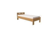 postel DALILA 100x200 čelo nízké dub