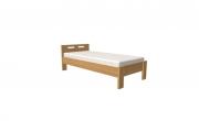 postel DALILA 140x200 čelo nízké dub
