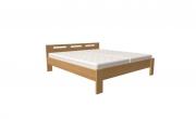 postel DALILA 160x200 čelo nízké dub