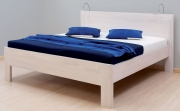 postel ELLA FAMILY 140x200 imitace dřeva