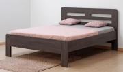 postel ELLA HARMONY 160x200 imitace dřeva
