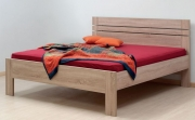 postel ELLA LUX 160x200 imitace dřeva