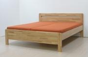postel KARLO KLASIK 140x200 imitace dřeva