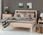 postel LETTYA - dvoulůžko buk