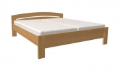 postel MICHAELA 160x200 s rovným čelem dub