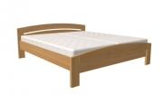 postel MICHAELA 180x200 s oblým čelem dub