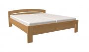 postel MICHAELA 200x200 s rovným čelem dub