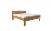 postel MICHAELA PLUS 200x200 s rovným čelem dub