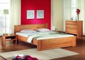 postel ROMANA 200x200 buk jádrový
