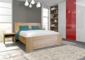 postel ROMANA II 90x200 buk jádrový