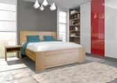 postel ROMANA II 200x200 buk jádrový