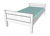 postel ROXY bílá