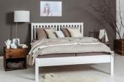 postel SALGA I - dvoulůžko bílá