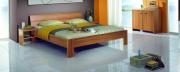 postel STELA 200x200 buk jádrový