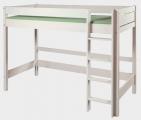 postel etážová BELLA - vysoká - bílá