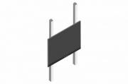 sestava LCD 65'' do 65 kg + PYLON AL