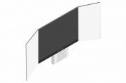 sestava LCD 75'' do 65 kg + křídla + stojan zvedací AL IAS