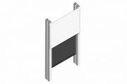 sestava LCD 75'' do 65kg + přední tabule 200-300cm + PYLON AL