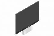 sestava LCD 86'' do 90 kg + stojan zvedací AL IAS