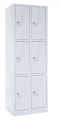 skříň s boxy SZ-0024/3 (6D) šestidvéřová