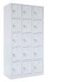 skříň s boxy SZ-0015 (15D) patnáctidvéřová
