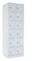 skříň s boxy SZ-0025/3 (12D) dvanáctidvéřová