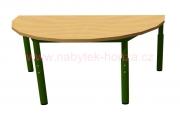 stůl HONZÍK KS půlkruh 120x60cm