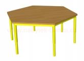 stůl HONZÍK KS2 šestiúhelník pr.120cm