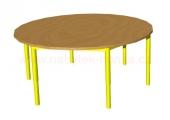stůl HONZÍK KS2 kruh pr.120cm
