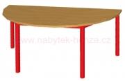 stůl HONZÍK K půlkruh 120x60cm