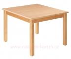 stůl L čtverec 80x80cm