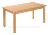 stůl L obdélník 80x60cm