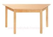stůl L lichoběžník 120x60x60x60cm