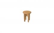 stolička REBEKA k toaletnímu stolku  masiv